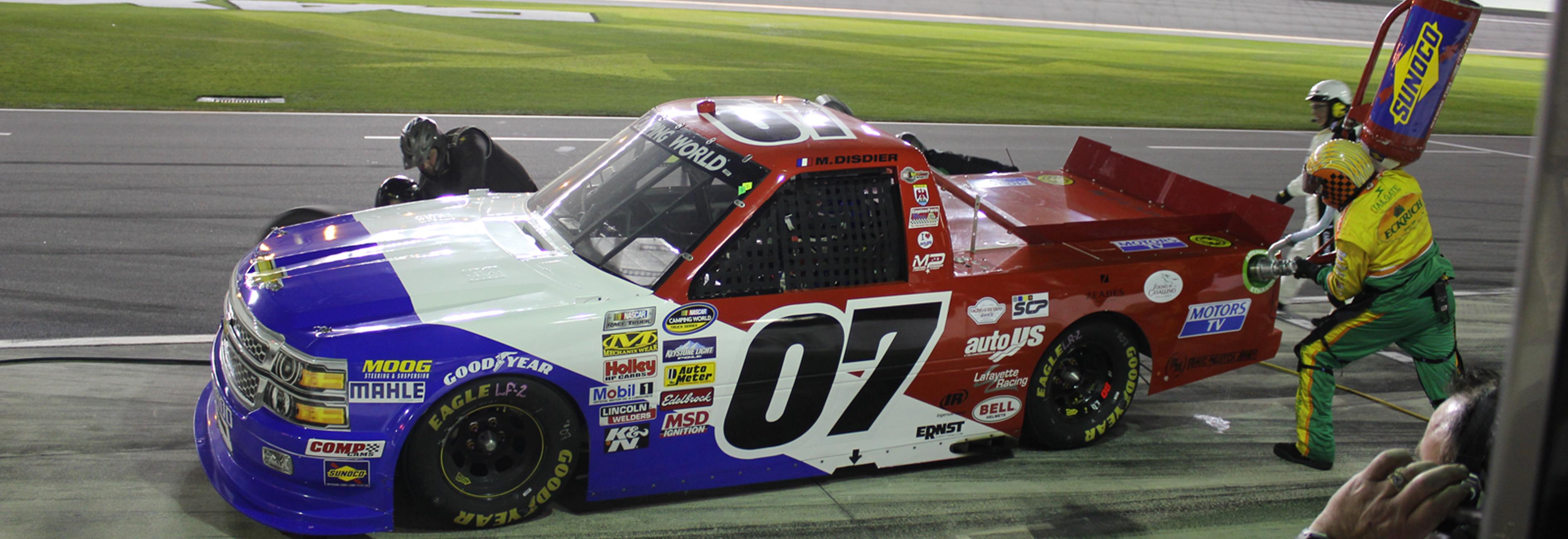 Ravitaillement Daytona 2014